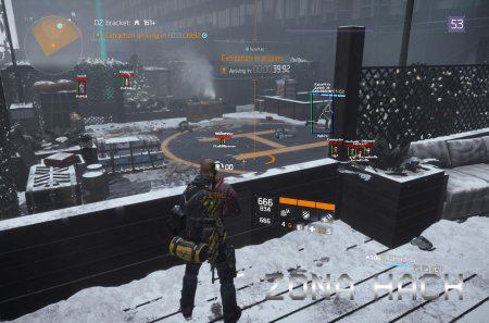 Чит TOM CLANCYS THE DIVISION Aaimbot/Wallhack/Esp/Box