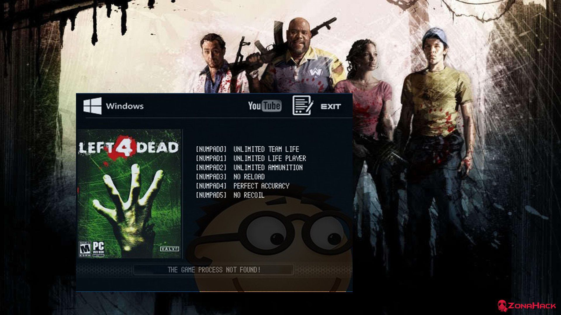 Трейнер к игре Left 4 Dead (+6) Latest Steam
